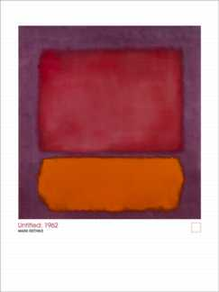 Orange, Crimson on Grape 1962