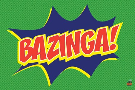 Big Bang Theory Bazinga